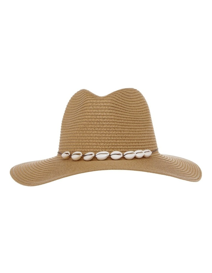 Fedora With Shells Summer Hat image 1