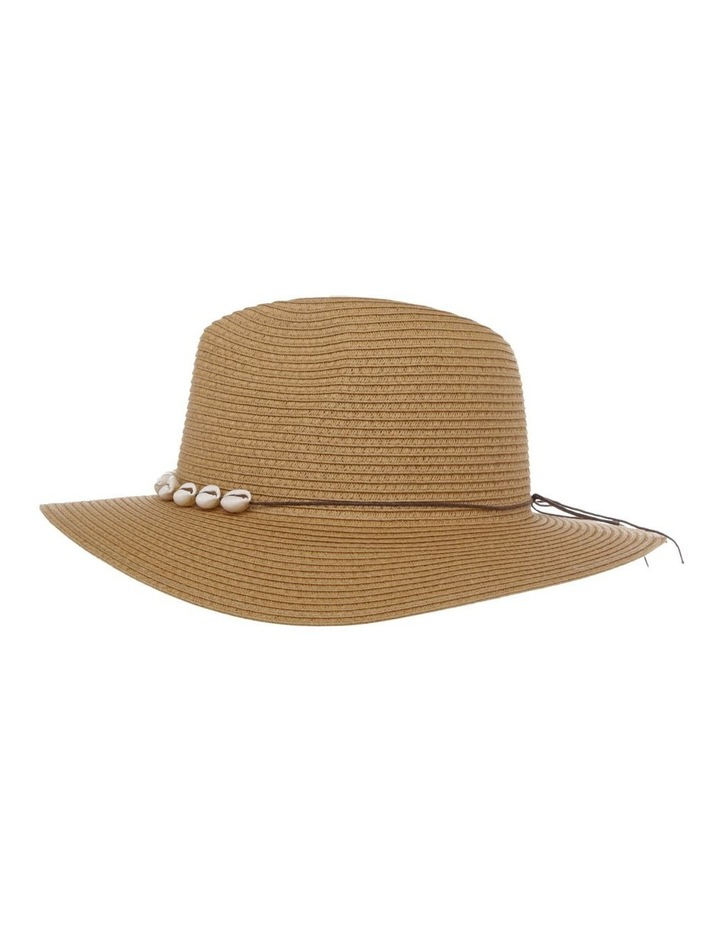 Fedora With Shells Summer Hat image 2