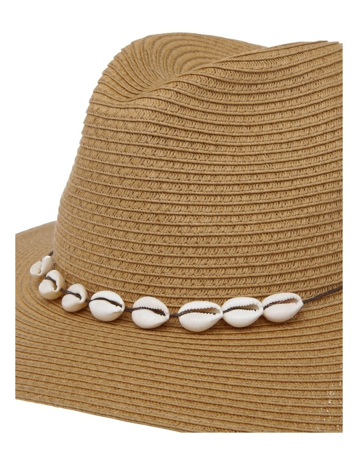 Fedora With Shells Summer Hat image 4