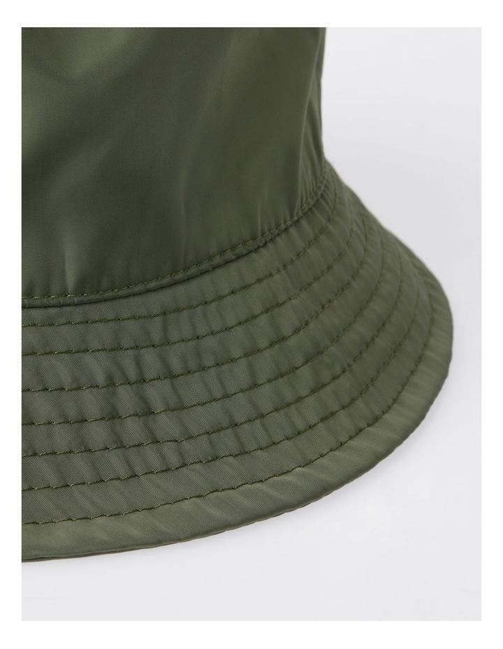 Khaki Bucket Hat image 3