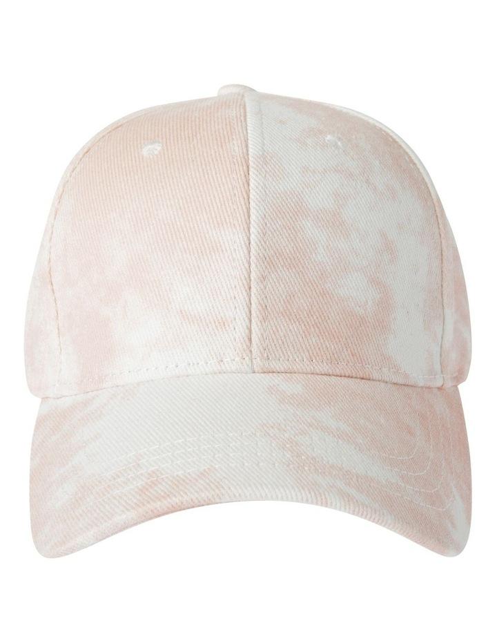 Peach Tye Dye Cap Summer Hats image 1
