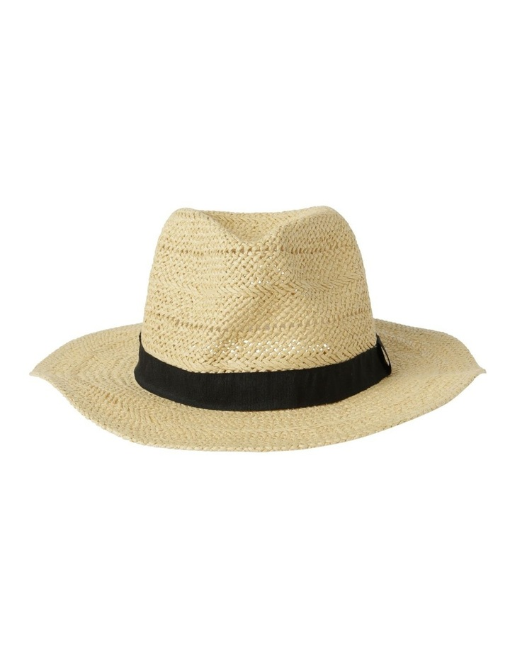 Open Weave Fedora Summer Hat image 1
