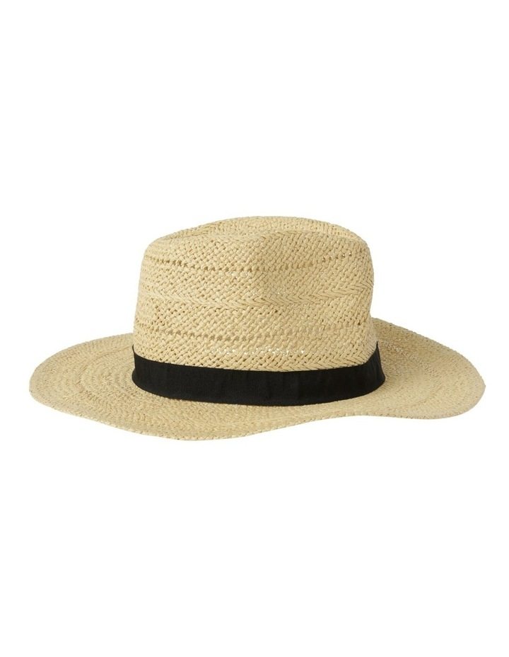 Open Weave Fedora Summer Hat image 2