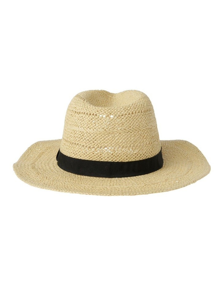Open Weave Fedora Summer Hat image 3