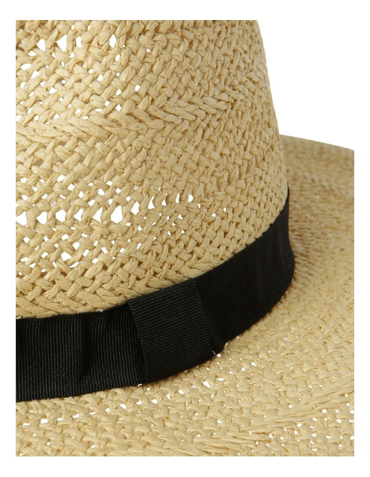 Open Weave Fedora Summer Hat image 4