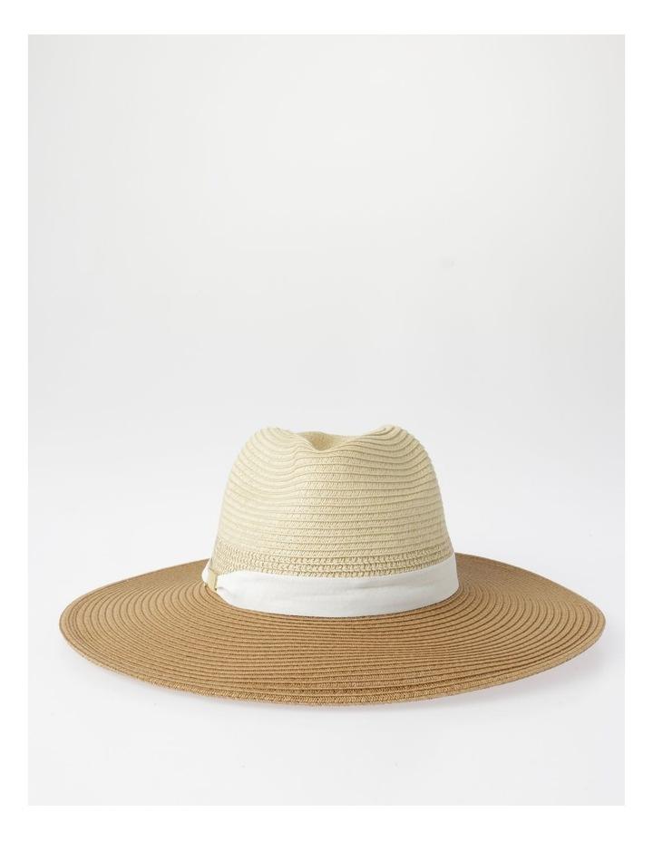 Two-Tone Fedora Hat image 1