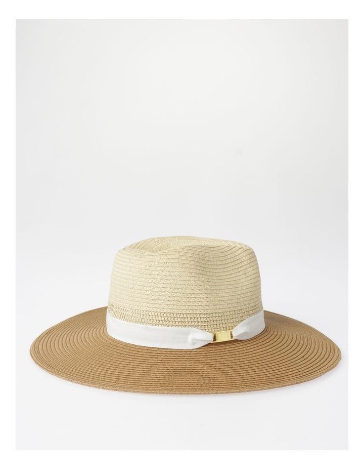 Two-Tone Fedora Hat image 2