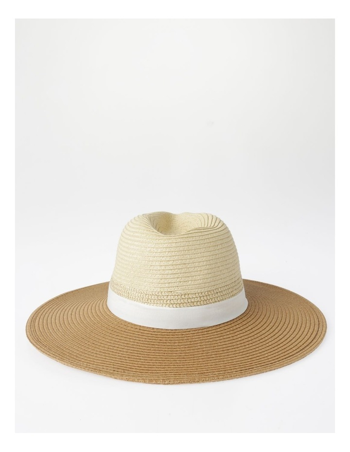 Two-Tone Fedora Hat image 3