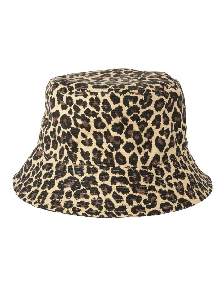 Leopard Print Bucket Summer Hat image 1