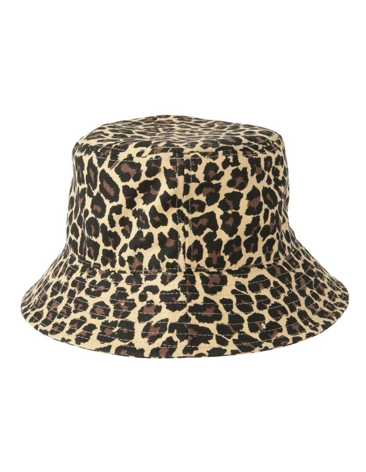 Leopard Print Bucket Summer Hat image 2