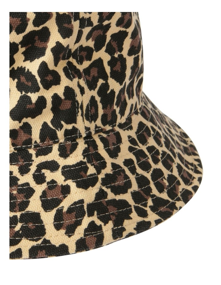 Leopard Print Bucket Summer Hat image 3