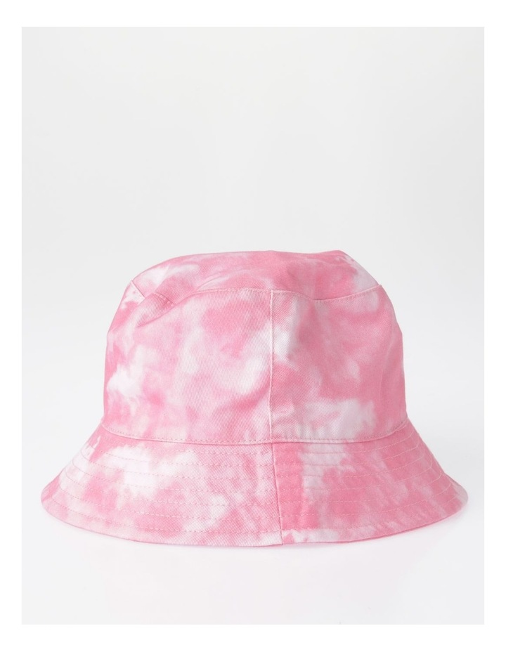 Pink Tie Dye Bucket Summer Hats image 2