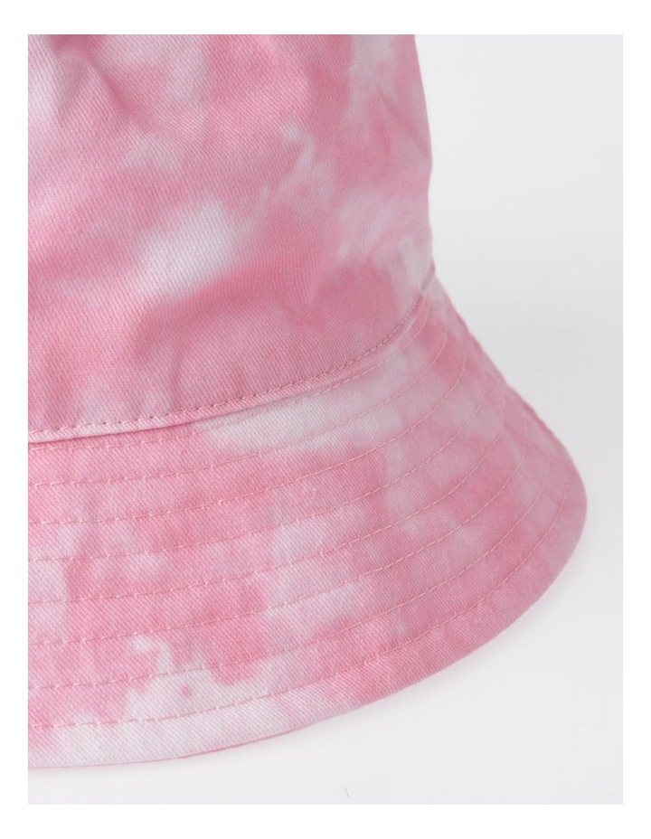 Pink Tie Dye Bucket Summer Hats image 3