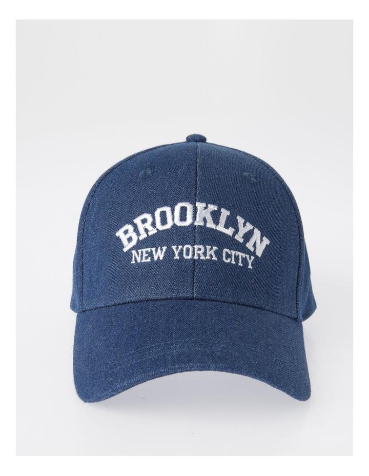 MSH1484 Brooklyn Denim Cap Summer Hats image 1