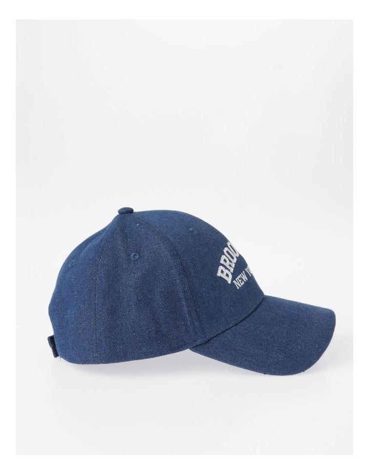MSH1484 Brooklyn Denim Cap Summer Hats image 2