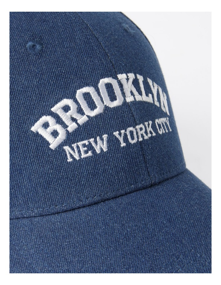 MSH1484 Brooklyn Denim Cap Summer Hats image 4