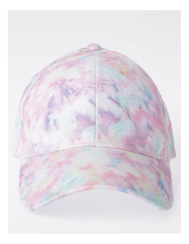 Pink Tie-Dye Cap image 1