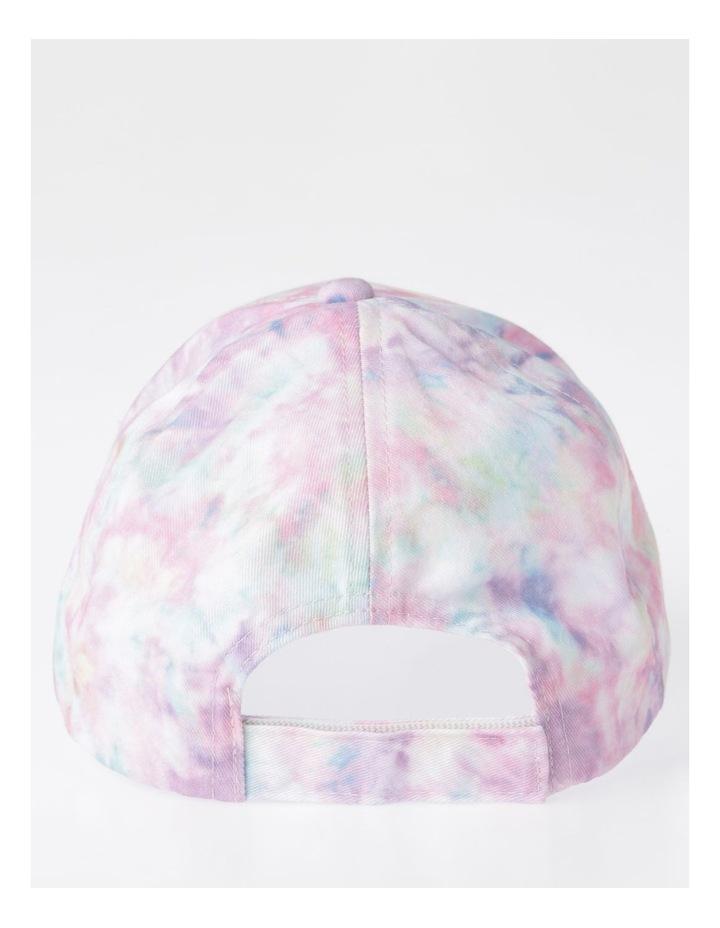 Pink Tie-Dye Cap image 3