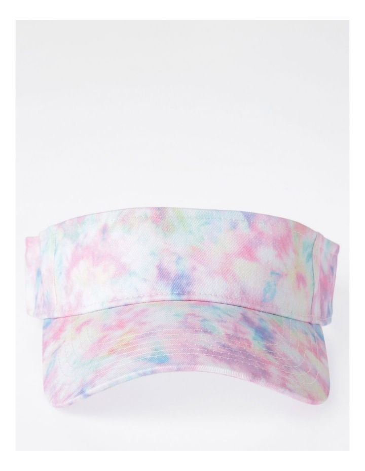 Pink Tie-Dye Sun Visor image 1