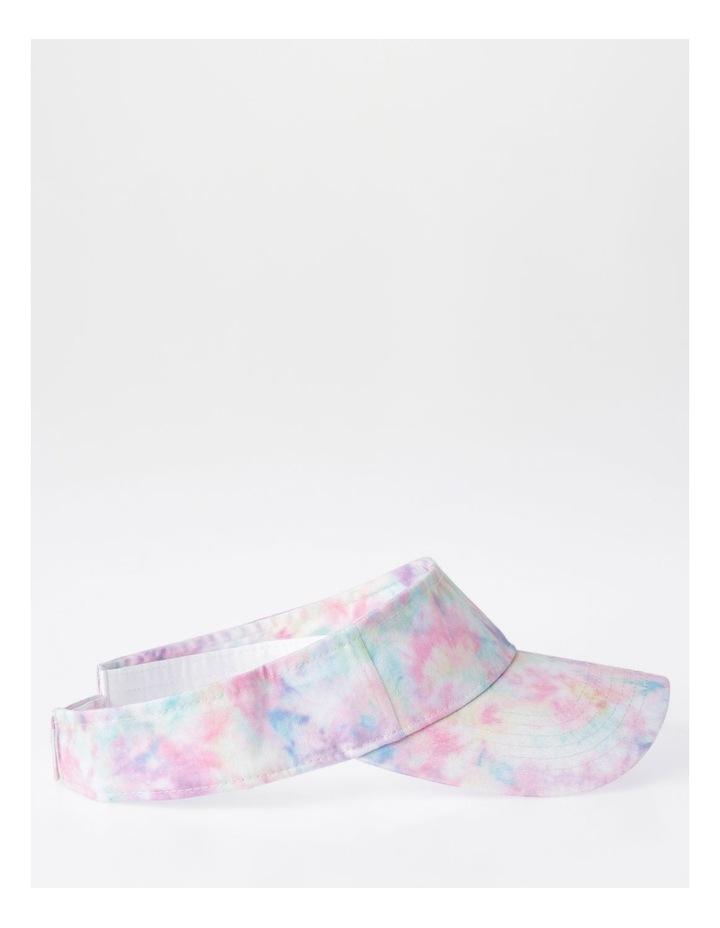Pink Tie-Dye Sun Visor image 2