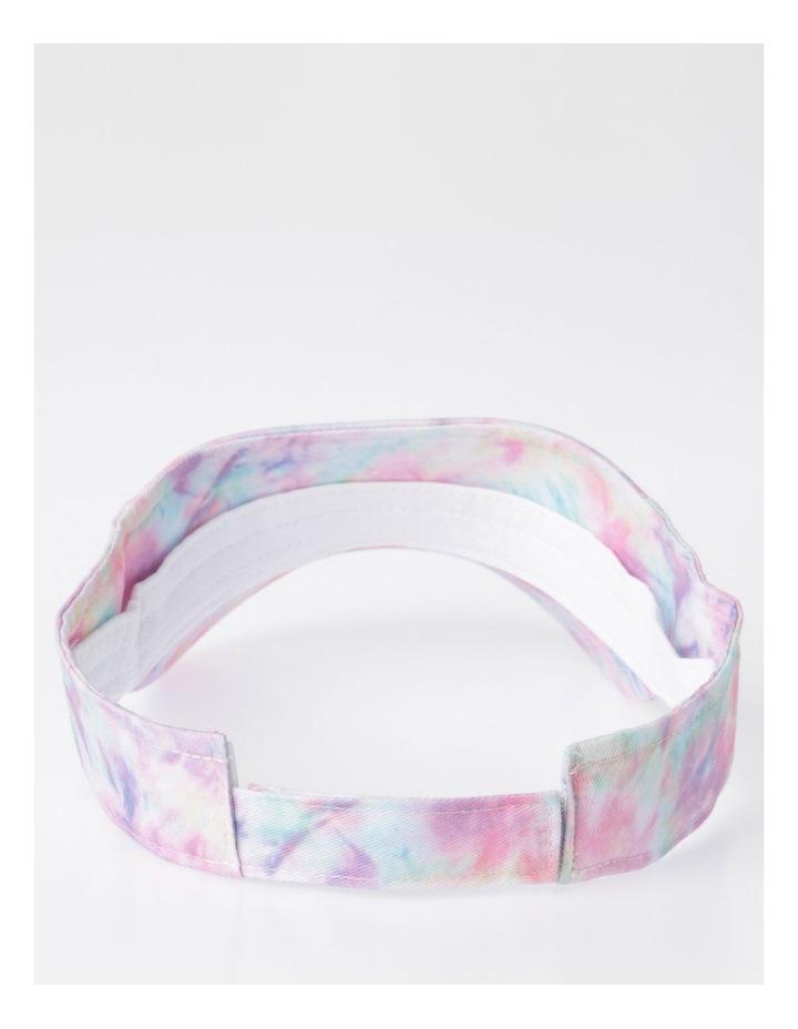 Pink Tie-Dye Sun Visor image 3