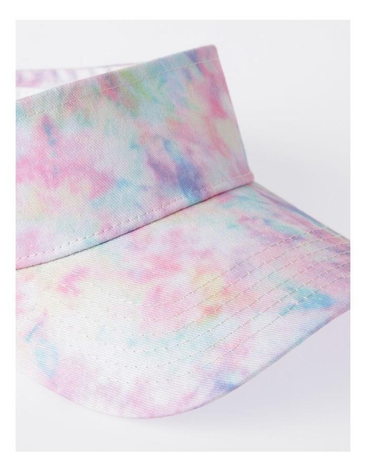 Pink Tie-Dye Sun Visor image 4