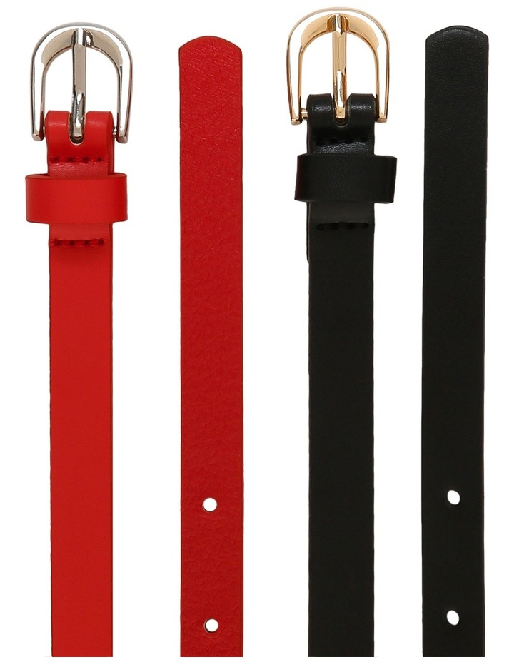 Two Packs Skinny Belts image 2
