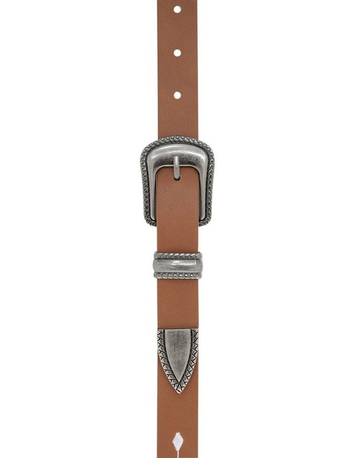 Embroidered Western Belt image 1
