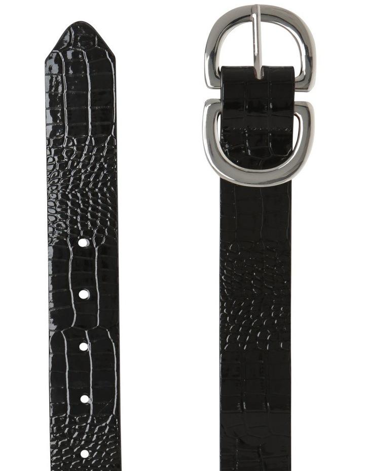 Statement Buckle Croc Belts image 2