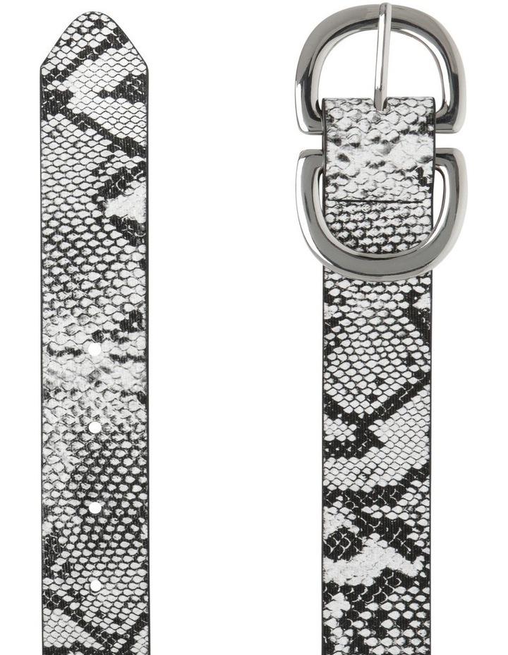 Statement Buckle Snake Belts image 2