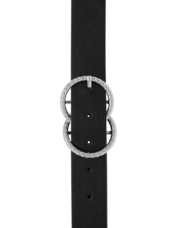 Textured Double Ring Belt image 1
