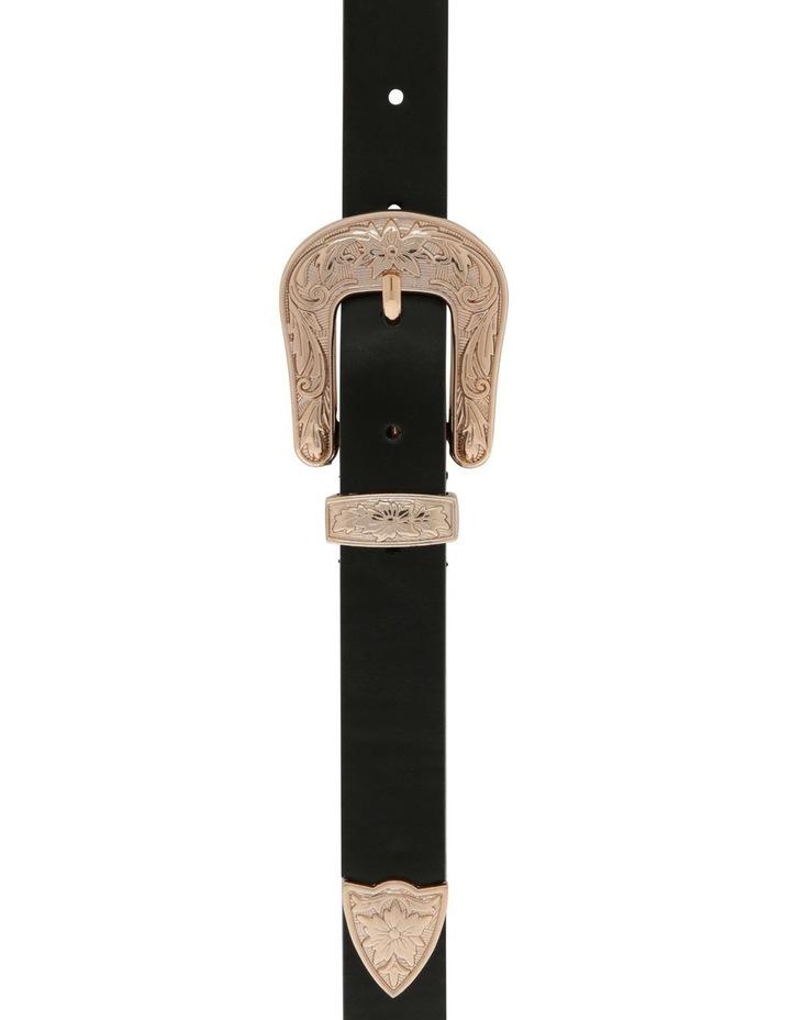 Western Skinny Belt image 1