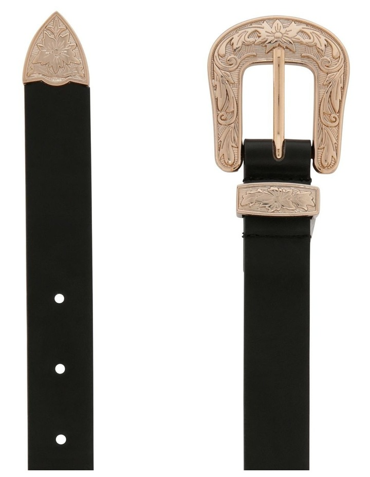 Western Skinny Belt image 2