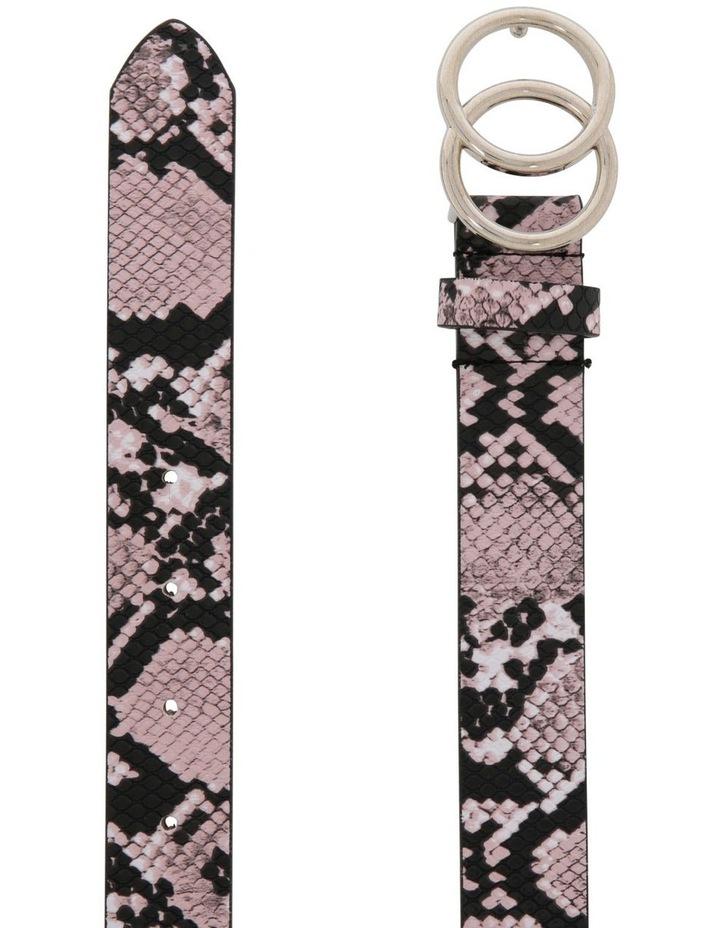 Snake Print Pu Belt image 2