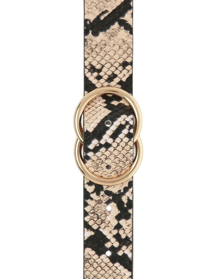 Snake Print Belt image 1