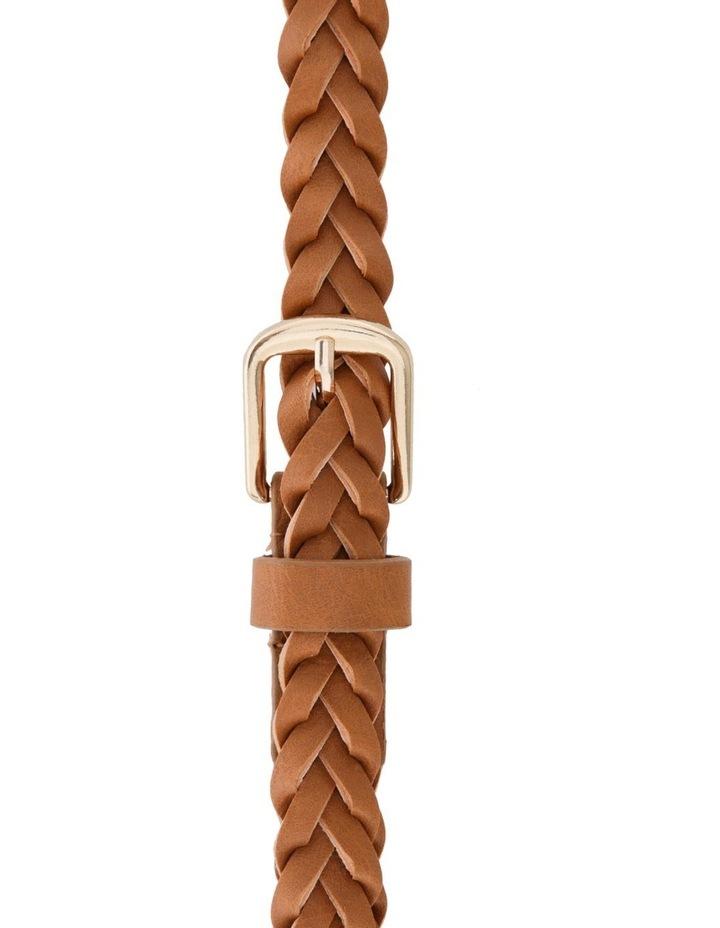 Plaited Skinny Belt image 1