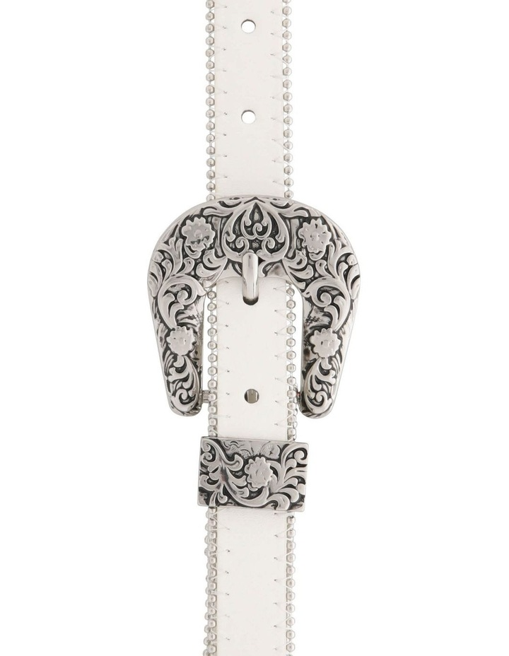 Studded Western Buckle Belt image 1