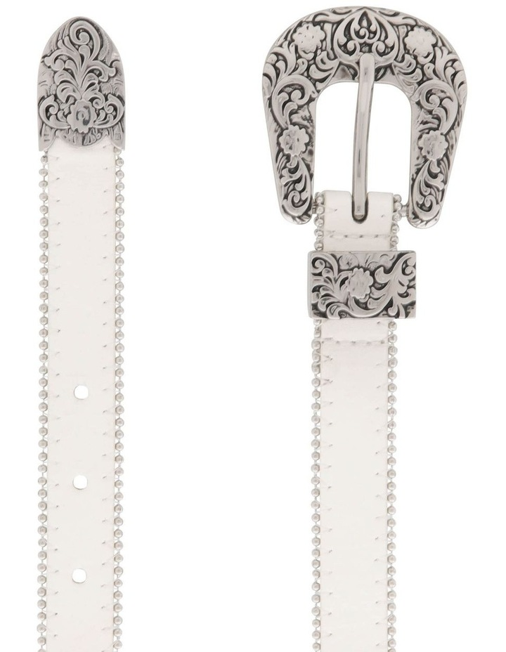 Studded Western Buckle Belt image 2