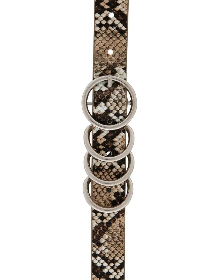 4 Keeper Thin Waist Belt image 1