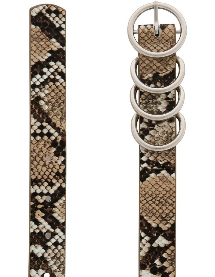 4 Keeper Thin Waist Belt image 2