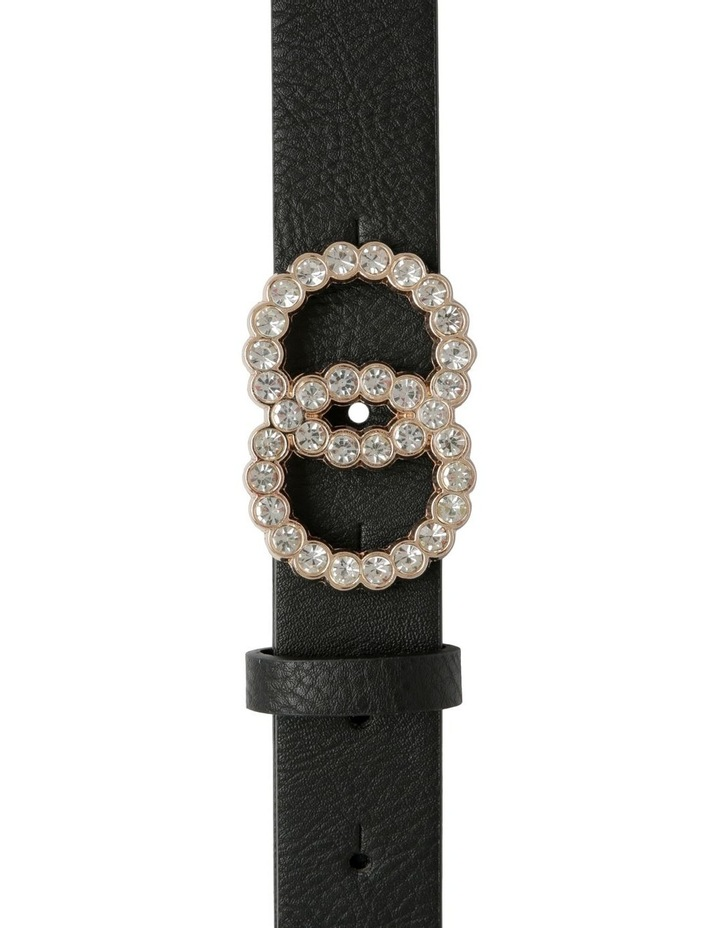 Diamante Double Circle Belt image 1