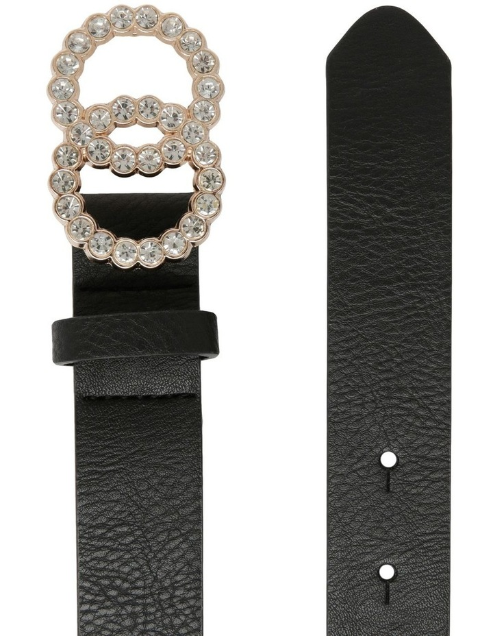 Diamante Double Circle Belt image 2