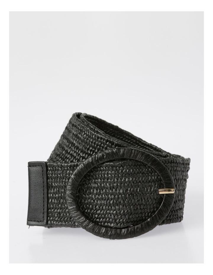 Natural Buckle Weave Belt image 1