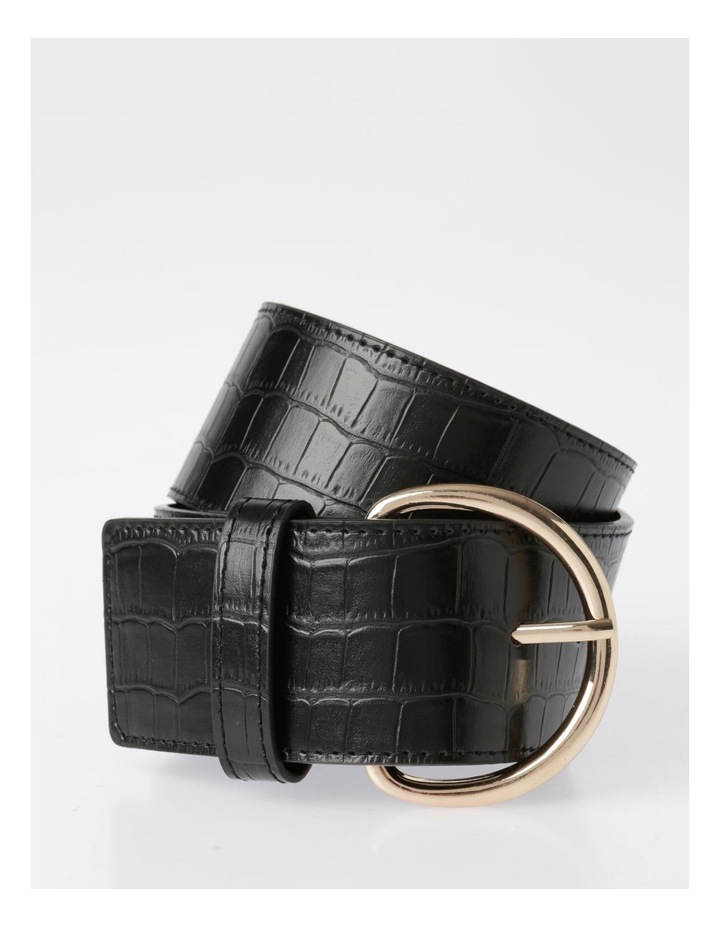 Wide Croc Belt image 1