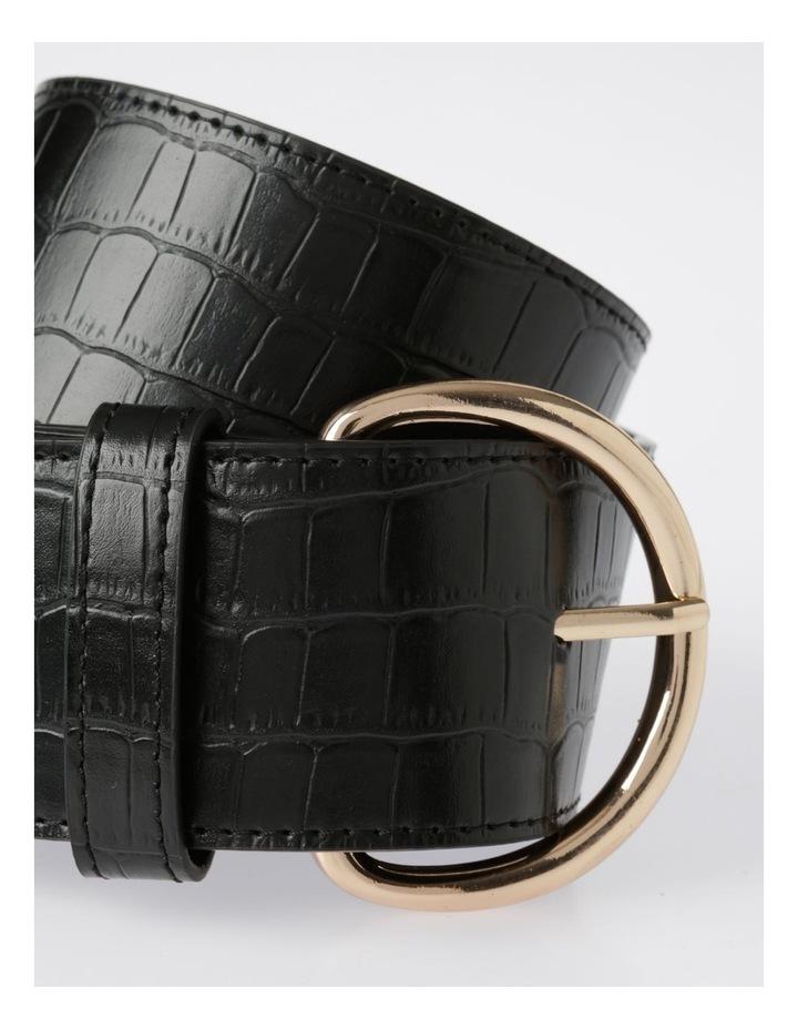 Wide Croc Belt image 2