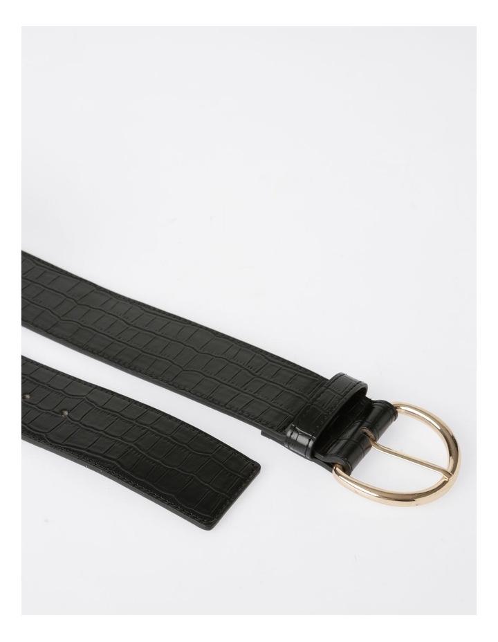 Wide Croc Belt image 4