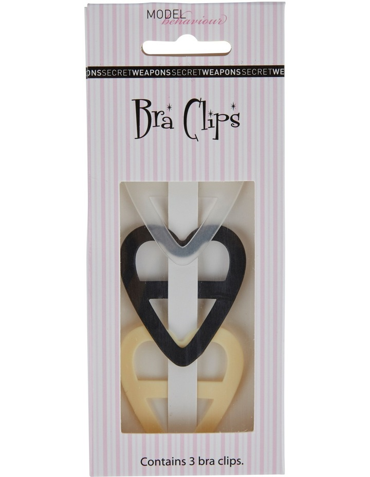 Heart Bra Clips - 3 Pack image 2
