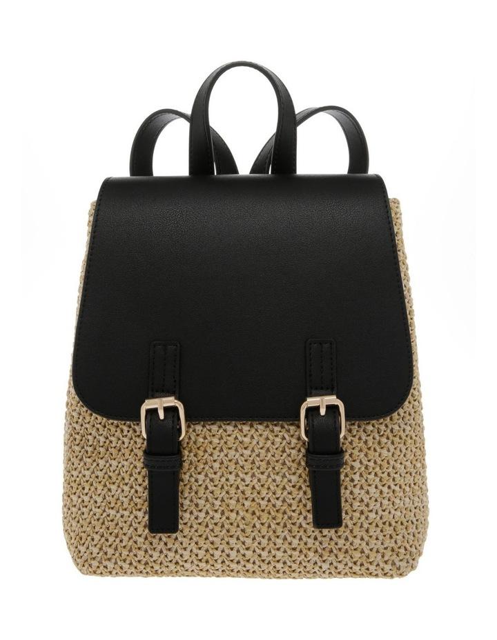 Woven Backpack Bag image 1