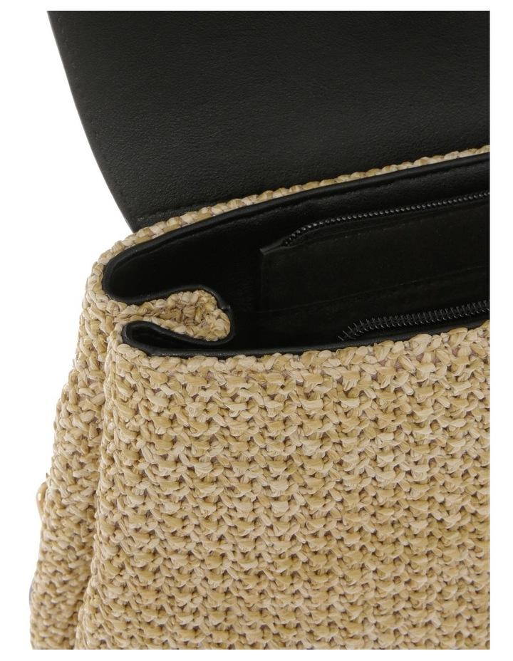 Woven Backpack Bag image 4