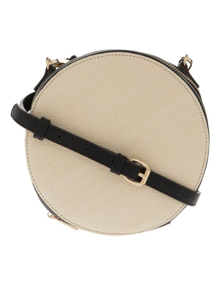 Woven Round Cross Body Bag image 1